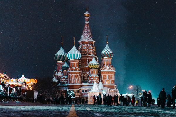 russia, moscow, Saint Basil's Cathedral